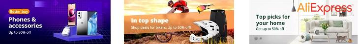 تسوق أداتك الجديدة والأجهزة المحمولة في AliExpress